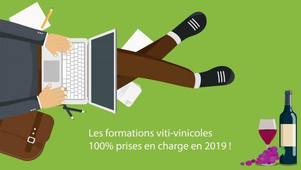 Les formations viti-vinicoles 100% prises en charge