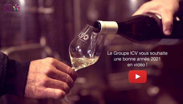 Les équipes du Groupe ICV vous souhaitent une belle nouvelle année !