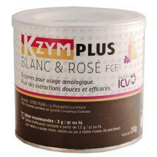 Enzyme œnologique KZYMPLUS® Blanc & Rosé FCE