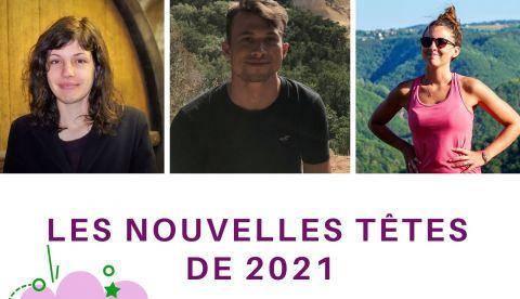 Les nouvelles têtes de 2021