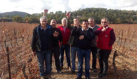 Formation viticole à Flassans