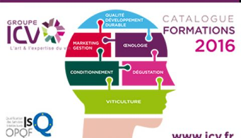 Le catalogue 2016 des formations vitivinicoles