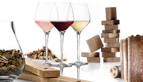 morceaux de bois en vinification