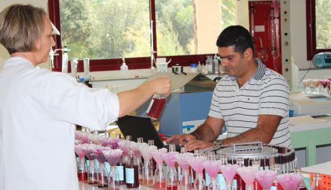 Etes-vous déjà entré au cœur d'un laboratoire d'analyses œnologiques ?