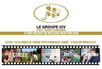 Le Groupe ICV vous envoie ses voeux !